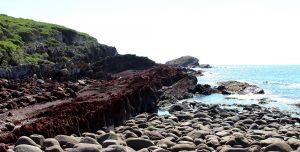 Tumbled rocks, Light to Light Walk