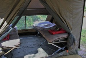 Light to Light Camps bed