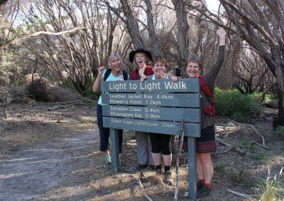 Light to Light Camps Tour group