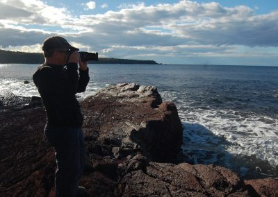 Photographer, Saltwater Creek beach